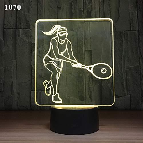 Joeiy Basketball 3D Nachtlicht Illusion LED Nachtleuchte Optische Visuelle Täuschung USB Lampe Nachttischlampe Acryl baby kinder kinderzimmer Schlafzimmer Geburtstag Parteien Weihnachten Dekor