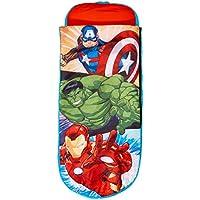 Avengers Junior-ReadyBed – Kinder-Schlafsack und Luftbett in Einem, Polyester, Red, 150 x 62 x 20 cm preisvergleich bei kinderzimmerdekopreise.eu