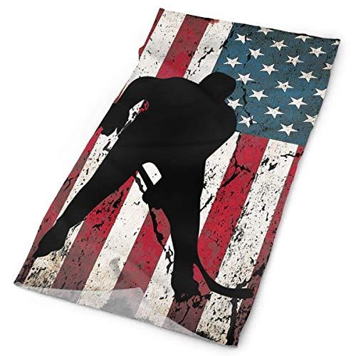 Camo Hockey Maske - Voxpkrs Hockey Player American Flag Tube