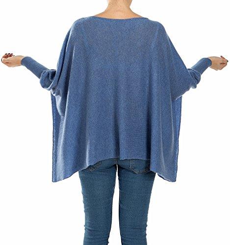 Poncho leggero in cashmere 100% Jeans