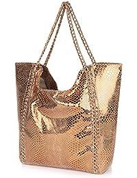 Neeshi Women's Tote Bag Copper (J-C)