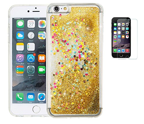 apple-iphone-6-plus-6s-plus-hulle-mit-panzerglasultra-slim-silikon-soft-tpu-crystal-clear-paillette-