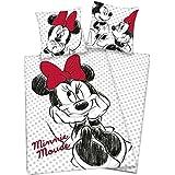 Funda nórdica y una funda para almohada (140 cm) Minnie Mouse