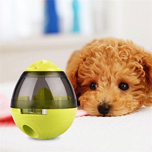 Juguetes Interactivos Dispensador de Comida para Perros Pelota de Juguete Recargable para Perros y Gatos Iq Treat Pet Toy Ball