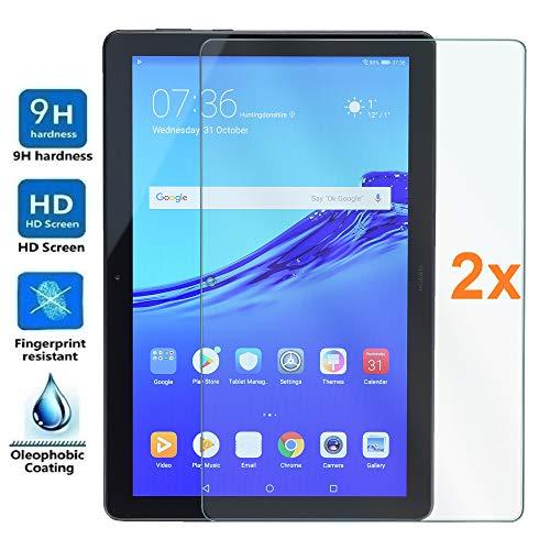 "vetro temperato tablet 10.1 Pack 2X Pellicola salvaschermo per Huawei MEDIAPAD T5 10.1"""