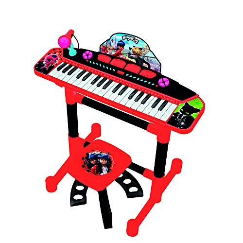 REIG 2686 Ladybug Keyboard auf Ständer mit