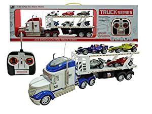 F1 Hauler Semi-Trailer 1:24 Electric RTR 628 4CH RC Truck Series(color may vary) by shan tou