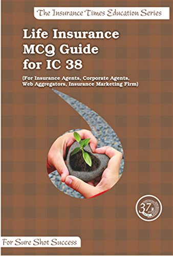 Lifeinsurance Agents MCQ Guide for IC38