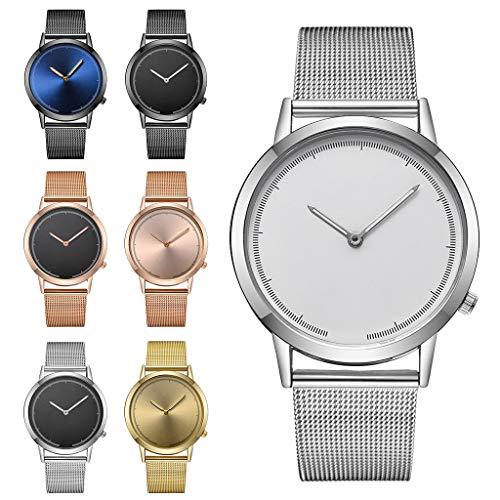 Mymyguoe Reloj de Pulsera Hombre analogico Relojes Hombre Unisex Reloj de Pulsera Relojes de Pulsera para Hombres Reloj Mujer Reloj analogico Reloj de Dama