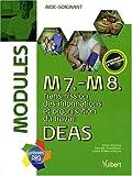 M7, M8 : transmission des informations et organisation du travail DEAS : Modules aide-soignant