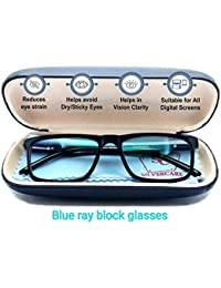 6fe57cce003 Silvercare Blue Ray Cut UV 420 Anti-Reflection unisex Spectacle for PC usage