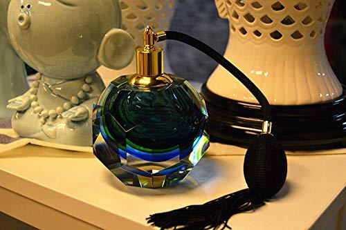 YAOHEHUA Statuen Und Skulpturen Retro Glas Glas Spray Airbag Parfüm Flasche Hochzeit Modell Nach Hause Schminktisch Auto Weiche Montage Dekoration Ornamente Kopfskulpturen Statuen Vasen