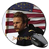 Bailando Con Lobos Dances With Wolves Kevin Costner Mauspad Round Mousepad PC