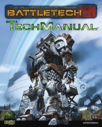 TechManual: Konstruktionsregeln für BattleTech (Battletech / Miniaturenspiel)