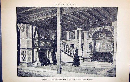 Vestibül Schweizer Architektur 1884 Ausstellungs-Zürich-Herr-Koch Building