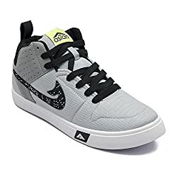 Asian shoes SKYPY-31 Grey Black Men Casual Shoes 8UK/Indian