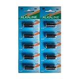 10 x Eunicell LR1 1.5v Alkaline Batteries MN9100, AM5, N size