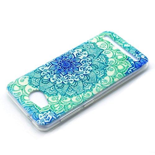 Voguecase® für Apple iPhone 7 Plus 5.5 hülle, Schutzhülle / Case / Cover / Hülle / TPU Gel Skin (Schwarz/mad here) + Gratis Universal Eingabestift Grün Teppich