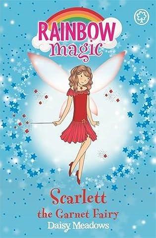 Scarlett the Garnet Fairy: The Jewel Fairies Book 2 (Rainbow Magic)