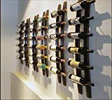 JunQi Wall Mounted, Wine Rack, Eisen, Holz, Rahmen, American Countryside Style, Creative, Bar Restaurant