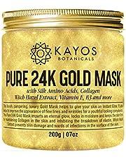 Kayos 24K Gold Mask (Silk Amino Acids Collagen Vitamin E)