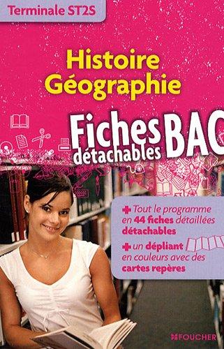 Histoire Géographie Tle ST2S