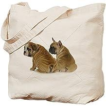 CafePress dos de cachorros de - inglés y con forma de bulldog Francés bolsa para herramientas de - estándar