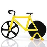 Rotelle tagliapizza Bicicletta Rotella Taglia Pizza in acciaio inox a doppia rotella taglia pizza Utensili da cucina