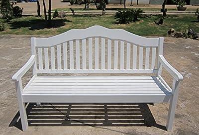3-Sitzer Bank Austin aus Holz