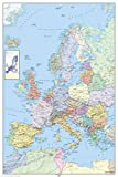 Poster Europe Map - political German - Größe 61 x 91,5 cm - Maxiposter