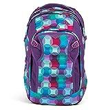 Satch Match, ergonomischer Schulrucksack, erweiterbar auf 35 Liter, extra Fronttasche