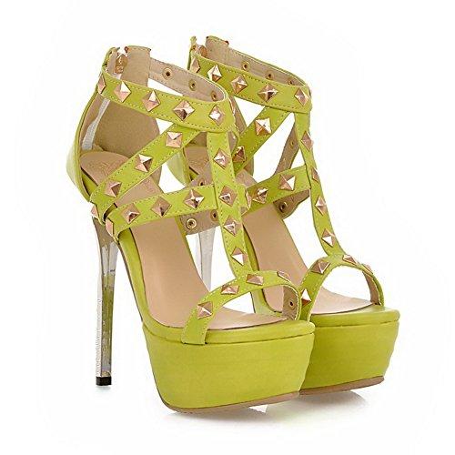 Adee , Sandales pour femme Vert