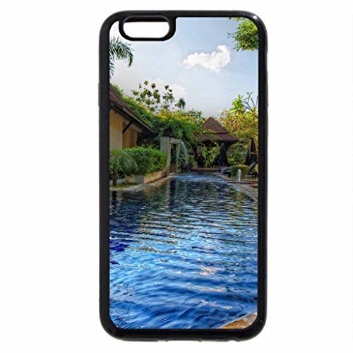 iPhone 6S / iPhone 6 Case (Black) gorgeous private pool hdr