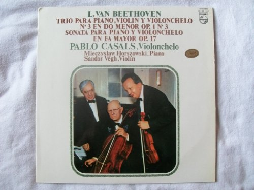 6500 151 Casals/Horszowski/Vegh Beethoven Cello LP