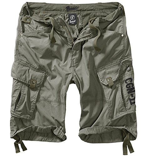 Columbia Mountain Shorts oliv - 5XL Casual Cargo Hose