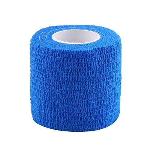 Wasserdichter Verband, 5 Rollen/Set Wasserdichtes selbstklebendes Verbandband Fingergelenke Wrap Sports Care(Blau) - Kohäsive Bandage Wrap