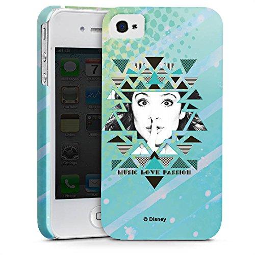 Apple iPhone X Silikon Hülle Case Schutzhülle Disney Violetta Fanartikel Merchandise Premium Case glänzend