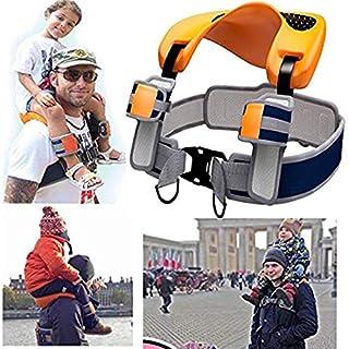AMZ BCS Schulterwust Seat Saddle Children Kids Child Ankle Straps Hands Free Travel Backpack