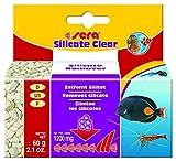 Sera 32179 Silicate Clear Dauerhafte Silikat-Entfernung Dem Nährstoff von Kieselalgen für Süß- und Meerwasser, 60 g
