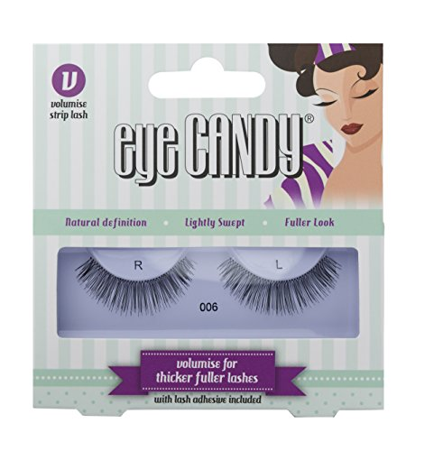 Eye Candy 006 Faux cils look naturel plein de volume, style 50's