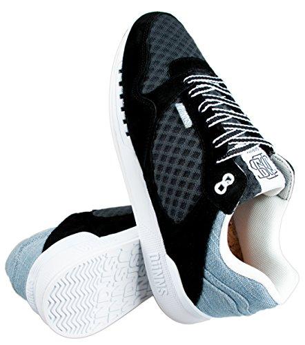 Djinns , Chaussures de course pour homme Noir