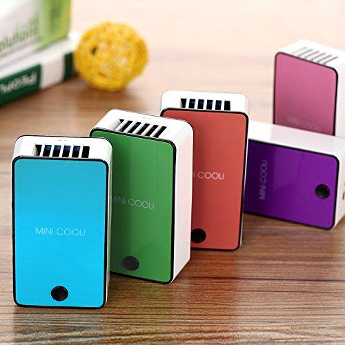 Zantec Ventilador portátil Mini USB Ventilador refrigeración
