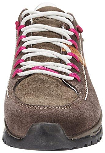 AKU Nemes Suede Low GTX - Chaussures - marron 2016 chaussures loisirs Brown/Magenta