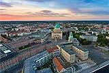 Potsdam City Skyline Art XXL Wandbild Kunstdruck Foto