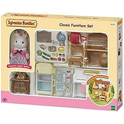 Sylvanian Families - 5220 - Set de Ameublement et Figurine Pour Cottage