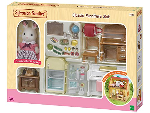 SYLVANIAN FAMILIES- Classic Furniture for Cosy Cottage
