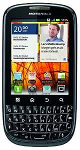 Motorola Pro+ Smartphone (7,9 cm (3,1 Zoll) Touchscreen, 5 Megapixel Kamera, Android 2.3, QWERTZ-Tastatur) grau