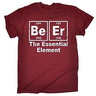 Beer is an Essential Element Short Sleeve t-Shirt