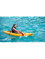 Point 65Tequila Sit on Top Kayak solo Yellow Amarillo