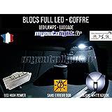 Módulos bloques Full LED iluminación LED de maletero – Compartimento de Baggages – Citroen Saxo